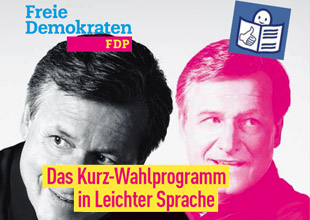 Wahlprogramm Landtagswahl 2016 in Leichter Sprache