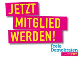 FDP Mitglied werden